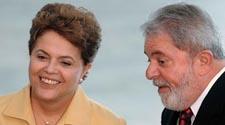 Roussef y Lula da Silva