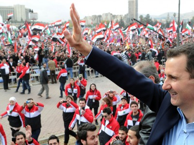 assad-at-syrian-rally