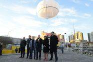 """Buenos Aires y su """"globo"""" de vigilancia"""